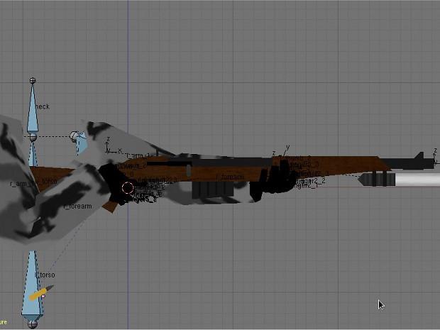 Blender Weapon Model