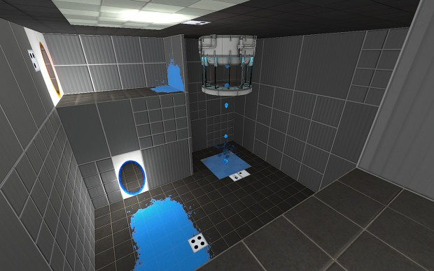 Portal 2 Gel Map