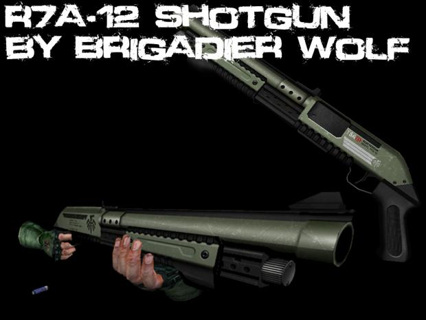 Brigadier Wolf's - R7a-12 Shotgun