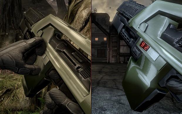 AvPGalaxy Green Pulse Rifle Skin