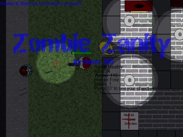 Zombie Zanity Revision 105