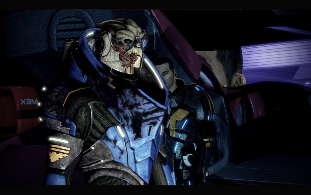 Garrus High Resolution Texture Mod