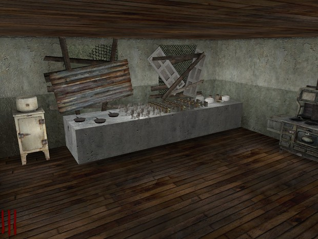 Nazi Zombie House Official Release
