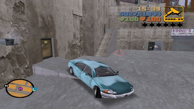 GTA 3 HD/SHINY CARS MOD