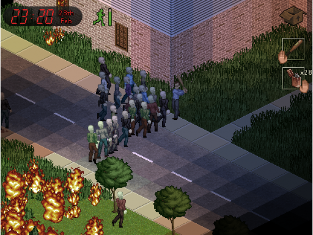 Project Zomboid Tech Demo 0.1.4c
