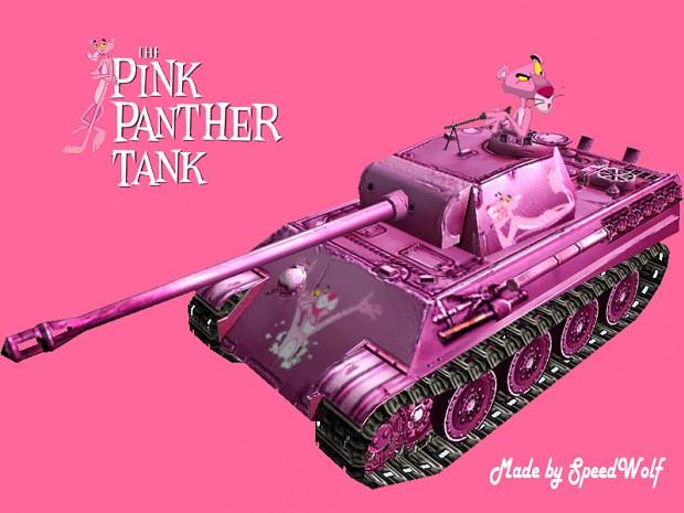 Pink Panther Tank
