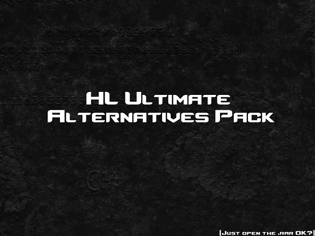 HL Ultimate Pack Alternatives Pack