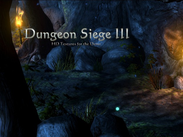 HD Textures for the Dungeon Siege III Demo