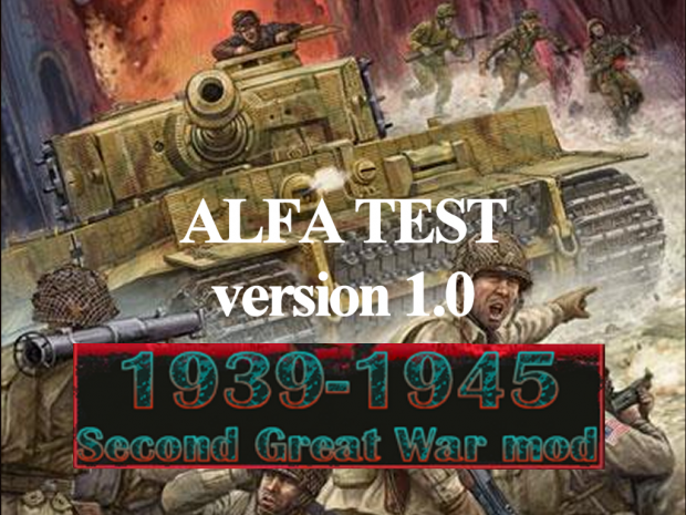 1939-1945 Second Great War ALFA TEST 1
