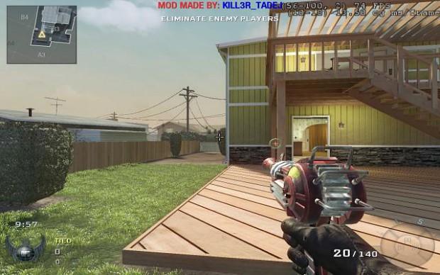 Ray Gun mod 1.0