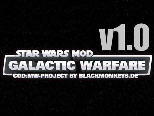 Release of Galactic Warfare v1.0 Final