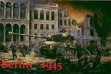 Berlin 1945 - Large SP map