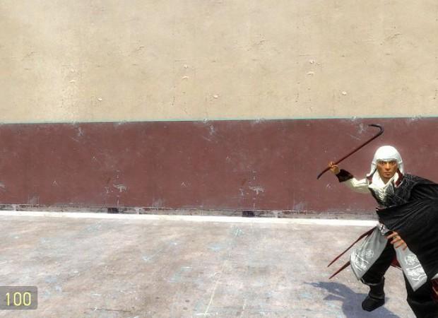 Ezio Auditore Playermodel and Npc Reskin