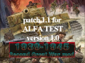 1939-1945 Second Great War mod PATCH 1.1