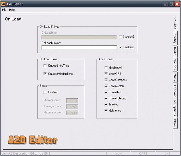 A2D Editor