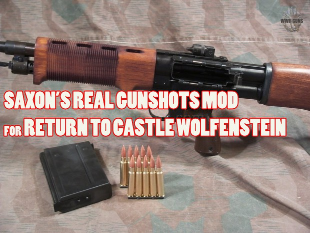 Real Gunshots pack for RTCW