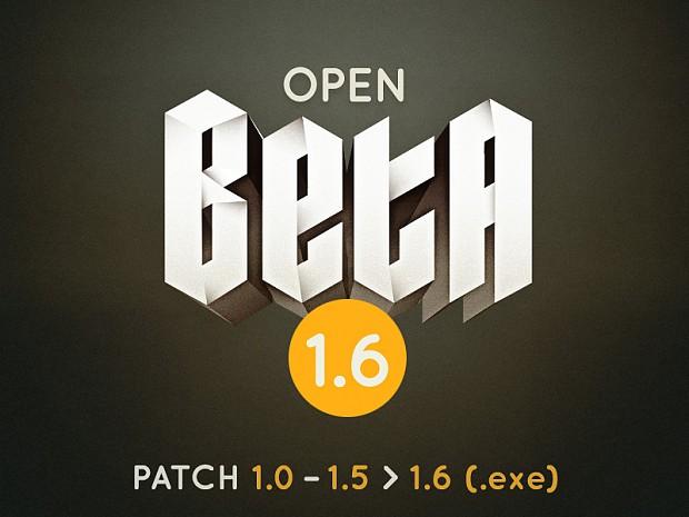 Open Beta 1.5 -> 1.6 Patch Installer