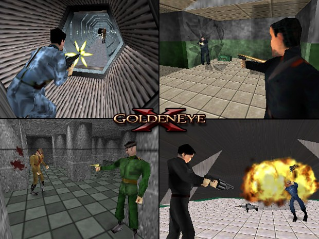 GoldenEye: X - Patch 4a