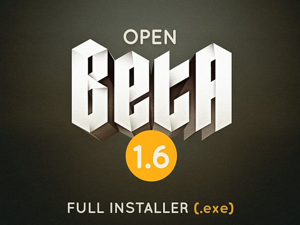 Open Beta 1.6 Full Installer