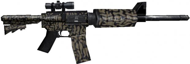 M4A1 Scope With Camo