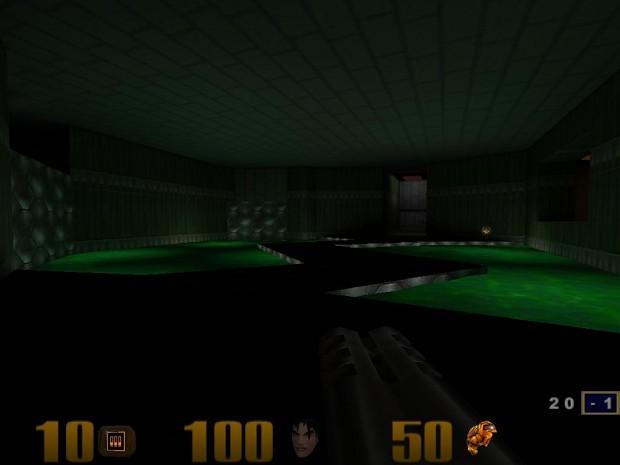 Doom - Hangar (Episode 1 - Level 1)