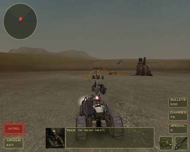 Monsta Sniper and Machine Gun