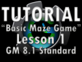Basic Maze Game Lesson 1