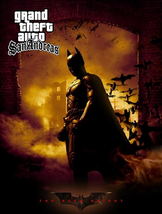 GTA SA Batman MOD