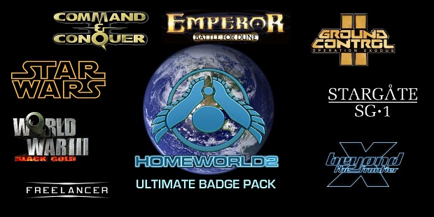 Homeworld Badge Pack