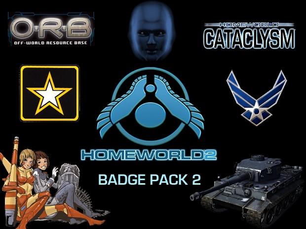 Homeworld Badge Pack 2