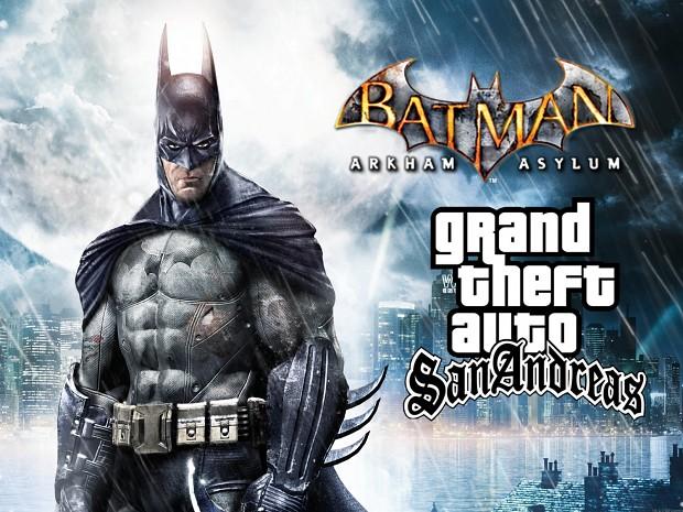 GTA SA Batman Arkham Asylum Mod