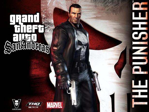 GTA SA  Punisher MOD