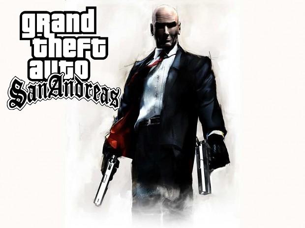 GTA SA HITMAN MOD