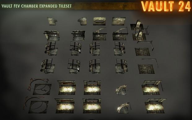 Vault FEV Chamber Expanded Tileset