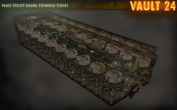 Vault Utility Rooms Expanded Tileset