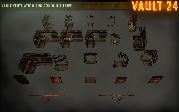 Vault Ventilation and Conduit Tileset