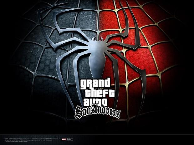 GTA SA Spiderman mod