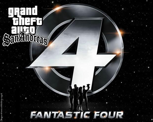 GTA SA Fantastic 4 MOD