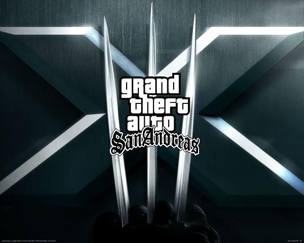 GTA SA X- MEN mod