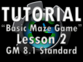 Basic Maze Game Lesson 2