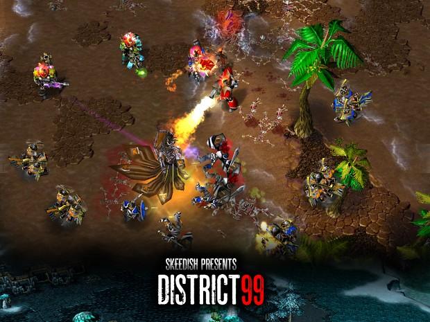 District 99 v1.10 Map Pack