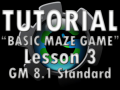 Basic Maze Game Lesson 3