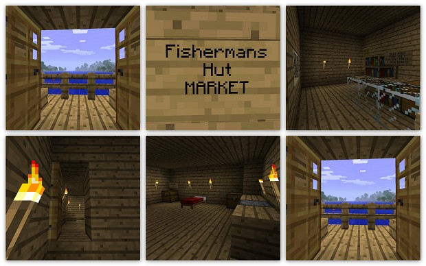 The Fishermans Hut Market by MegaNExus