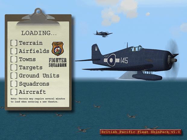 British Pacific Fleet SkinPack v1.0