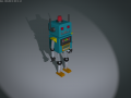 Simple rigged Robot! .blend