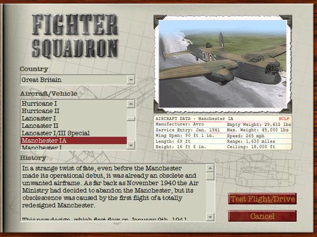British & Commonwealth Legacy PlanePack v5.0