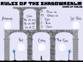 Rules of the Shadowrealm