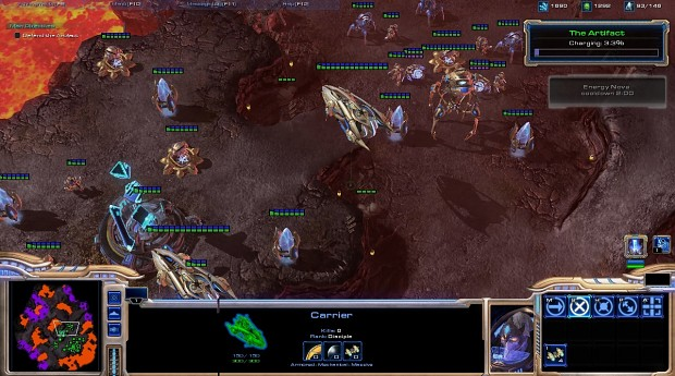 Protoss Wings Of Liberty V1.1