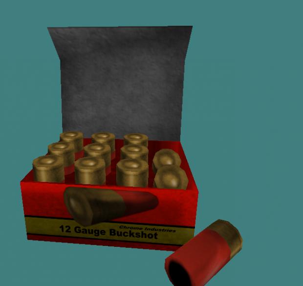 HD Shotgun Ammo & Shells V1.0