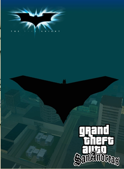 GTA SA Batman cape mod